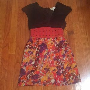 Tracy Reese black floral dress